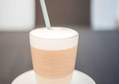 Kleines Cafe Wieseth Latte